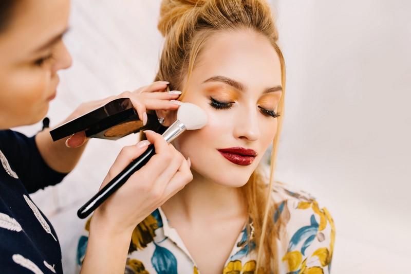 Салонный дневной макияж от Diva