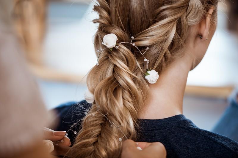 Плетение кос в салоне Diva
