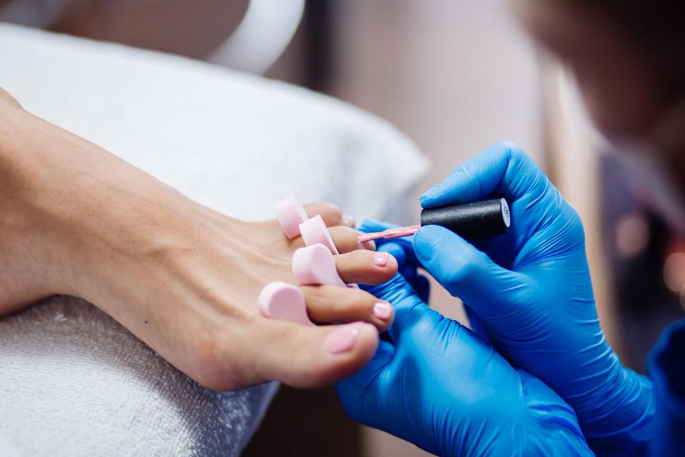 Особенности педикюра ногтей